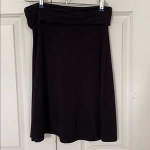 Black Old Navy small stretch, extensible, skirt